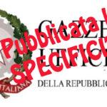 gazzetta_ufficiale_logo-150x150 Assegno di specificità: riscontro dell'Amministrazione ai nostri quesiti