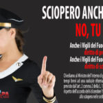 """sciopero-150x150 La Uil Pa VVF scrive al governo: """"Nulla all'orizzonte per i Vigili del Fuoco"""""""