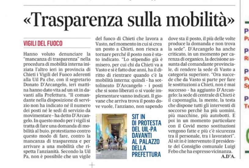 Trasparenza-sulla-mobilita RASSEGNA STAMPA VERTENZA CHIETI